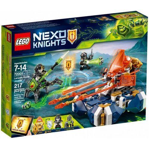 Klocki nexo knights bojowy poduszkowiec lance'a marki Lego