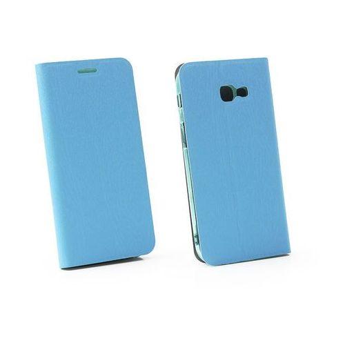 Samsung Galaxy A5 (2017) - etui na telefon Flex Book - niebieski, kolor niebieski