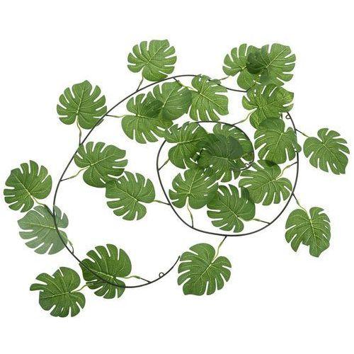 Girlanda z liści wykonanych z tworzywa, sztuczna roślina do dekorowania wnętrz i pleneru (8719987053542)