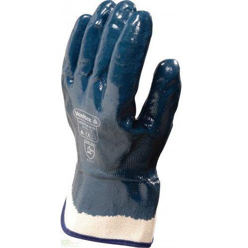 Rękawice nitrylowe do prac ciężkich. dłoń całkowicie powlekana marki Venitex