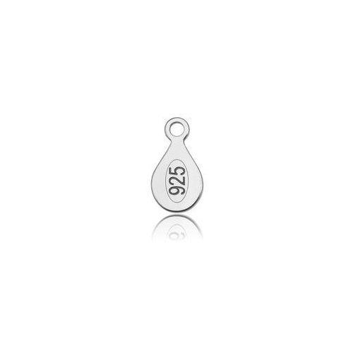 Blaszka cechownicza z wybitą próbą 925 srebro BC 1,0 z kategorii Akcesoria do biżuterii