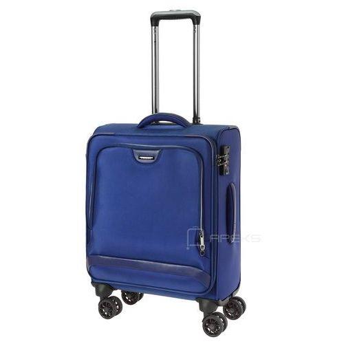 Puccini Copenhagen mała walizka kabinowa 20/55 cm / granatowa - granatowy (5906734068833)