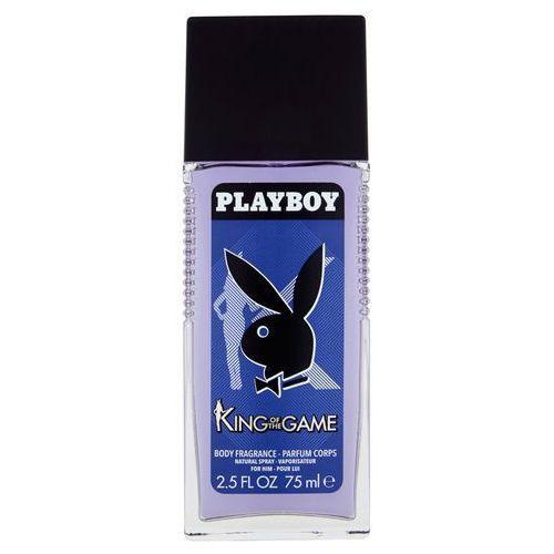 Dezodorant Playboy King Of The Game dla mężczyzn z atomizerem 75 ml