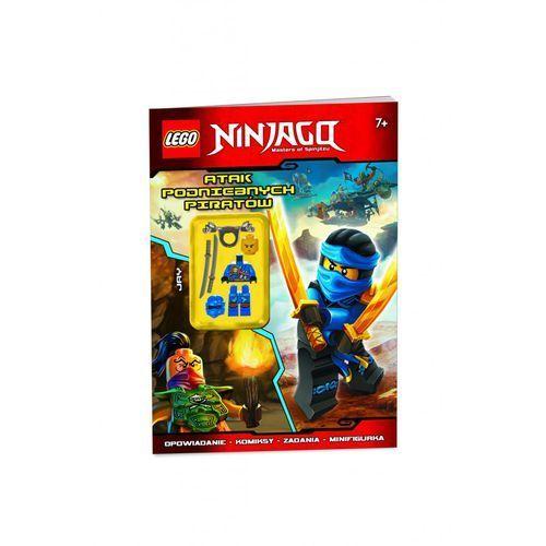 Lego Książka  ninjago atak piratów 1y31b4 (9788325321703)