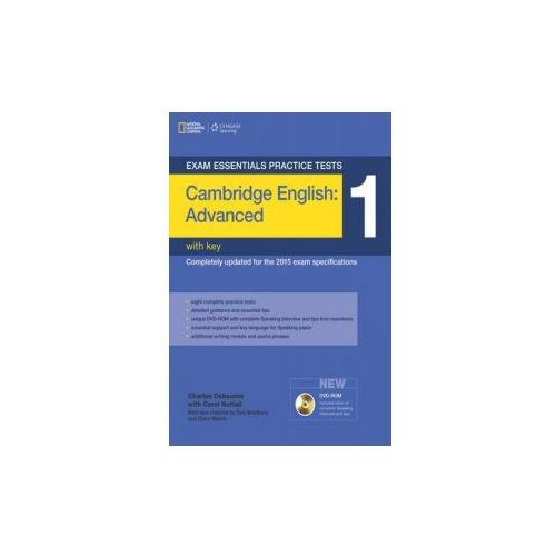 Exam Essentials: Cambridge Advanced Practice Test 1 with Key (2015)
