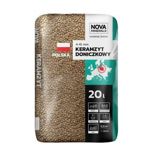 Nova minerals Keramzyt ogrodniczy 20 l 4-10 mm brązowy