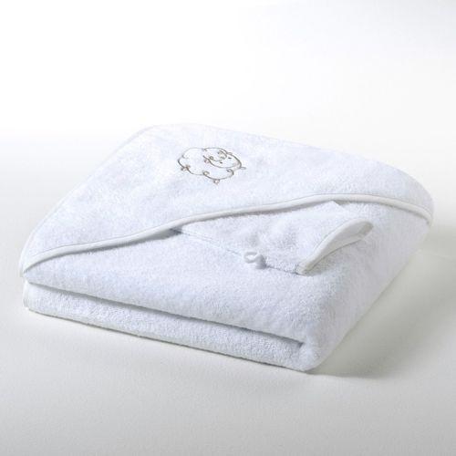 Pelerynka kąpielowa + rękawica do mycia z gąbki 420 g/m² dziewczynka i chłopiec Betsie
