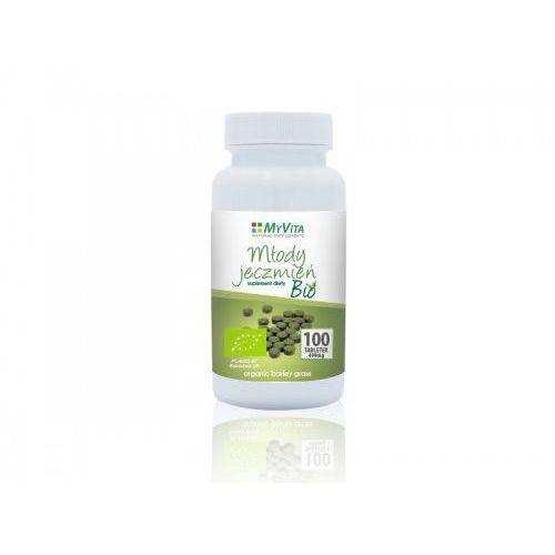 OKAZJA - Tabletki Młody jęczmień 100 tabletek (Myvita)