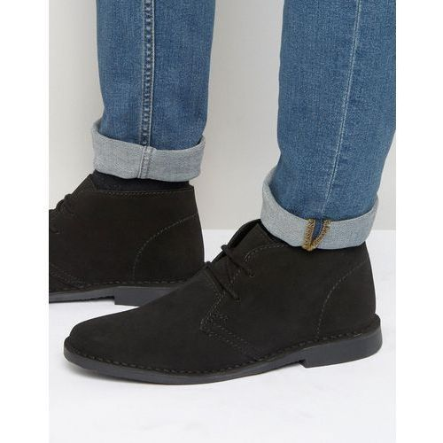 desert boots black suede - black, Red tape