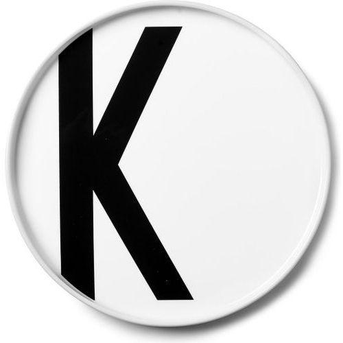 Talerz porcelanowy AJ litera K (5710498720445)