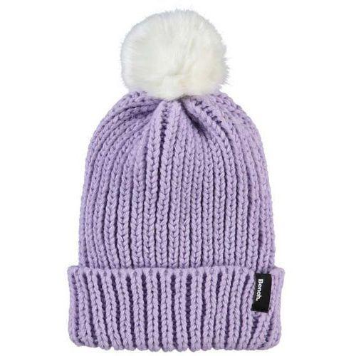 czapka zimowa BENCH - Turn Up Fur Pom Pom Beanie Orchid Petal (PU070) rozmiar: OS