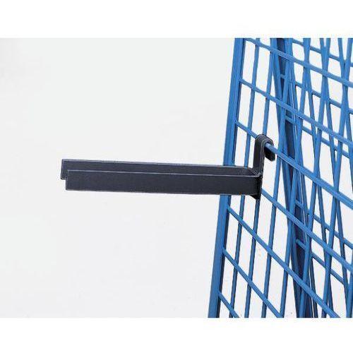 Element nośny, wspornik widłowy, dł. 300 mm, w kolorze antracytowo-szarym. łatwe marki Kaiser+kraft
