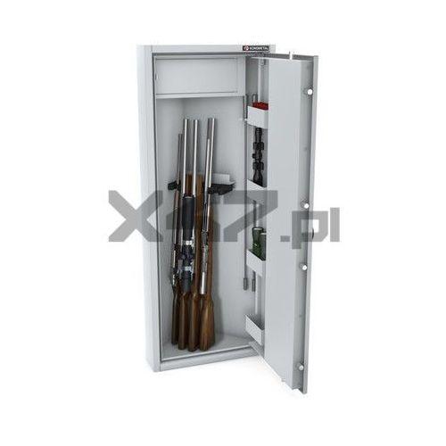 Konsmetal Szafa na broń długą mlb narożna el s1 - zamek elektroniczny