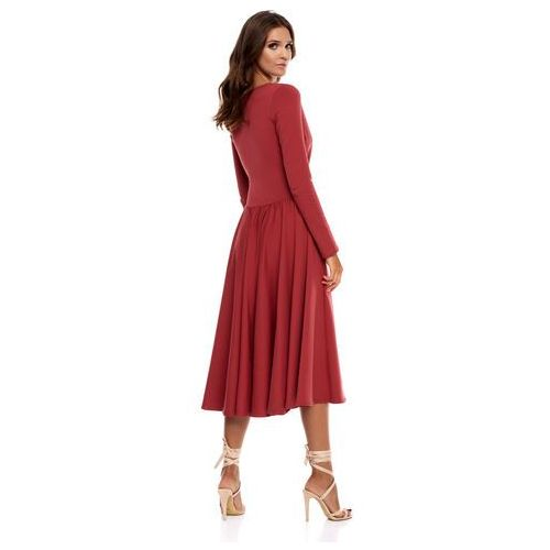 Sugarfree Sukienka cosenza w kolorze marsala