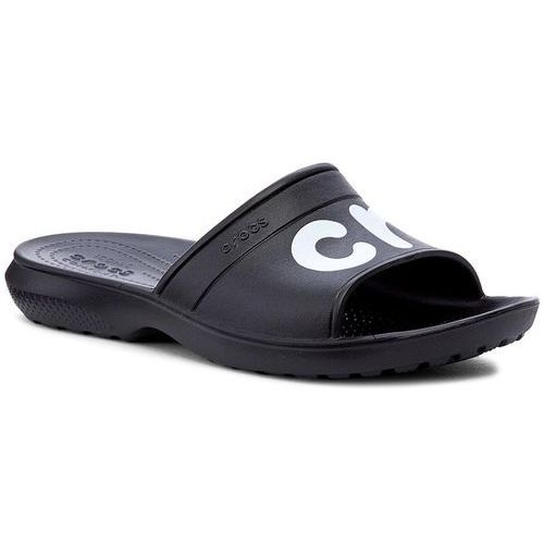 Klapki - classic graphic slide 204465 black/white, Crocs, 36.5-46.5