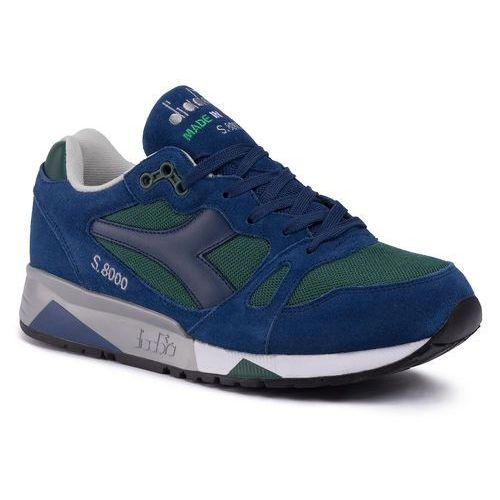 Sneakersy DIADORA - S8000 Nyl Ita 501.170470 01 C6275 Dark Green/Estate Blue, kolor niebieski