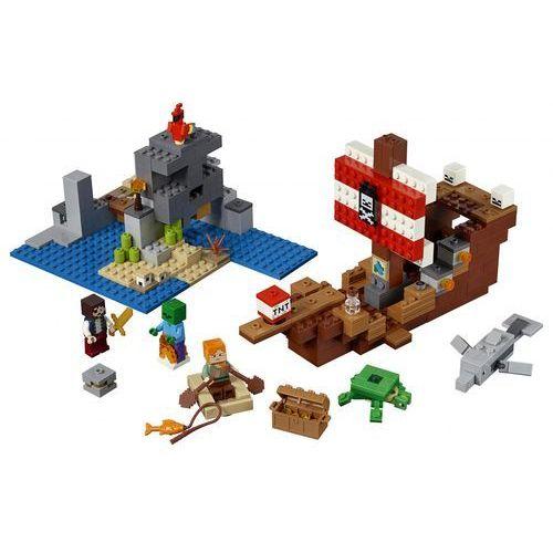 LEGO Minecraft 6251779 Przygoda na statku pirackim