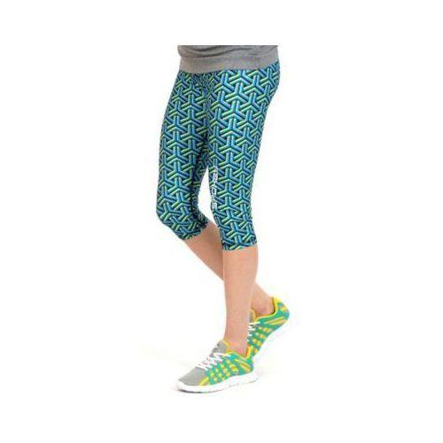 Spodnie fitness prato damskie leginsy 3/4 (rozmiar s) marki Spokey