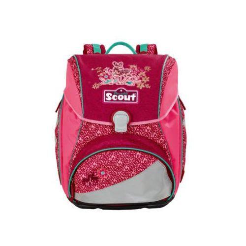 Scout alpha plecak z akcesoriami szkolnymi, 4-częściowy - fancy forest (4007953404233)
