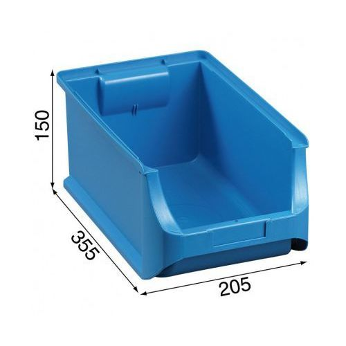 Warsztatowe pojemniki z tworzywa sztucznego - 205 x 355 x 150 mm marki Allit