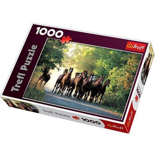 Trefl Ogiery pełnej krwi angielskiej puzzle 1000 (5900511101683)