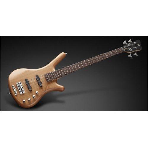 RockBass Corvette Basic 4-String, Natural Transparent Satin, Fretted gitara basowa
