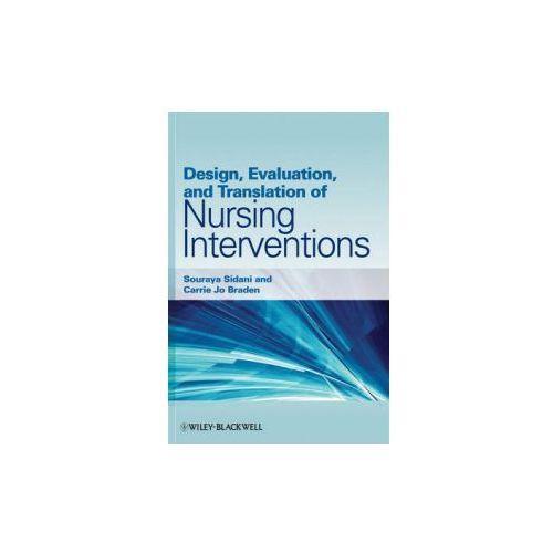 Design, Evaluation, and Translation of Nursing Interventions (9780813820323)