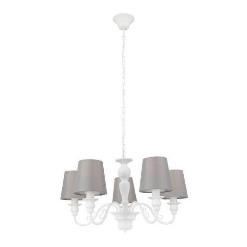 Lampa wisząca GoodHome Tulou 5 x E14 biała (5036581096410)