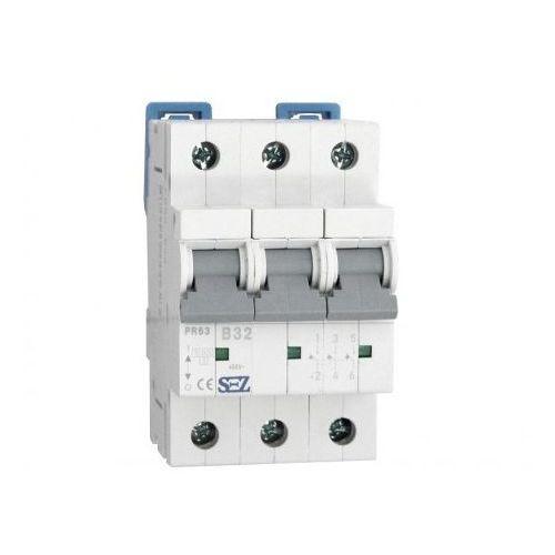 B32a 3p 10ka wyłącznik nadprądowy bezpiecznik typ s eska pr63 sez 0623 marki Pce
