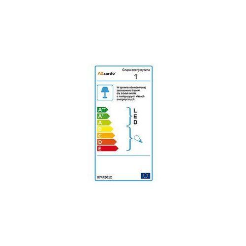 Azzardo Optima 2 AZ0205 AD 6014-3B Lampa wisząca zwis oprawa 3X40W E14 biała, AZZ AD 6014-3B
