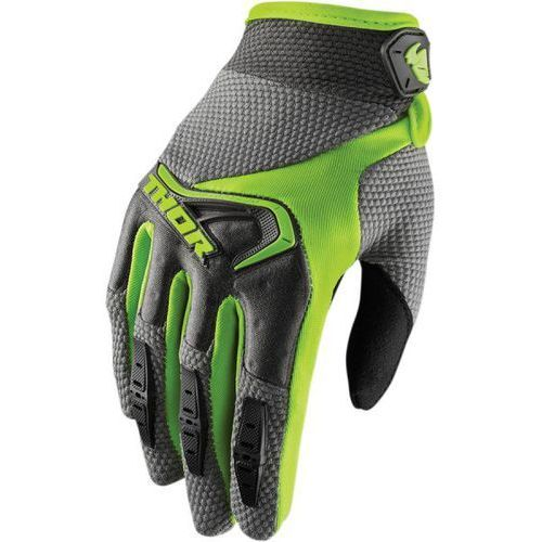 THOR RĘKAWICE WOMENS SPECTRUM OFFROAD GRAY/LIME =$