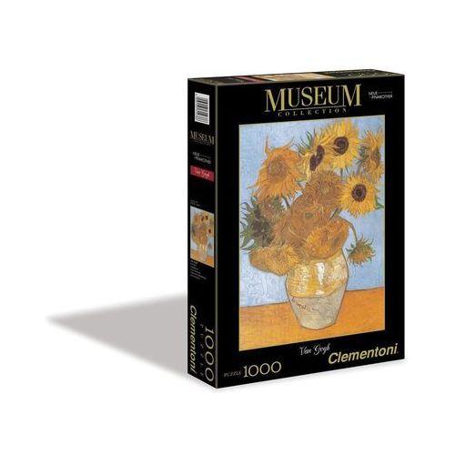 Clementoni, puzzle Museum Sunflowers, AM_8005125314386