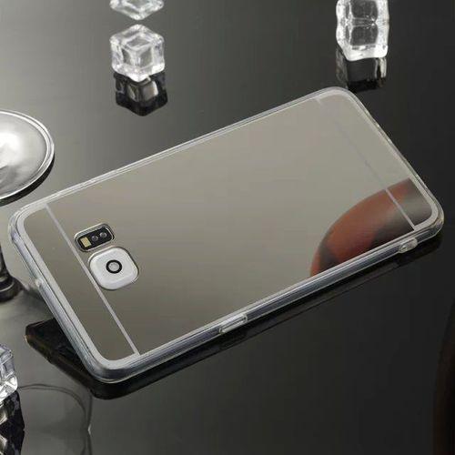 Slim Mirror Case Srebrny | Etui dla Samsung Galaxy S7 - Srebrny, kolor szary
