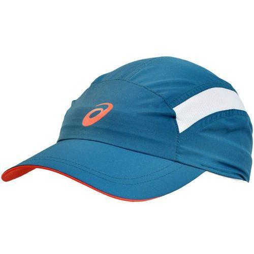 Czapka z daszkiem essential cap  - niebieski - niebieski, marki Asics