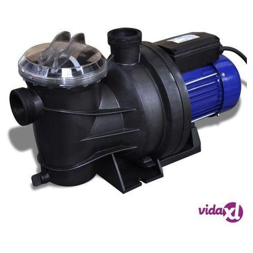 Vidaxl elektryczna pompa do basenu 800w niebieska