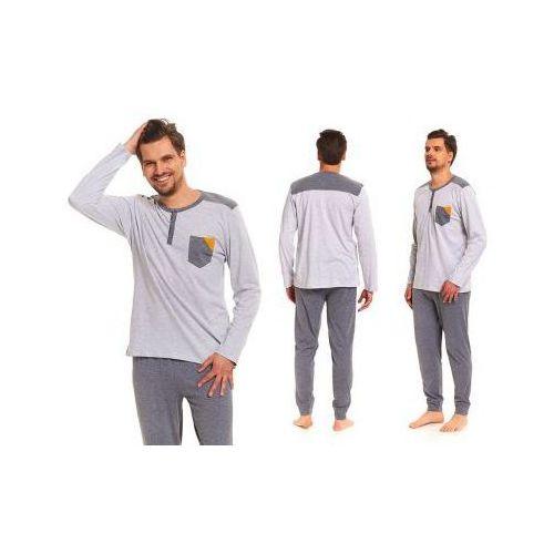 Piżama męska adam: szary, Dobranocka