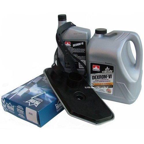 Filtr oraz olej dextron-vi automatycznej skrzyni biegów a4ld ford bronco 4x4 marki Petro-canada
