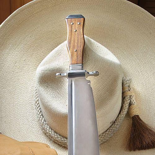 Płatnerze Wielki nóż z trumienną rękojeścią - dziki zachód 1850r (ws401732)