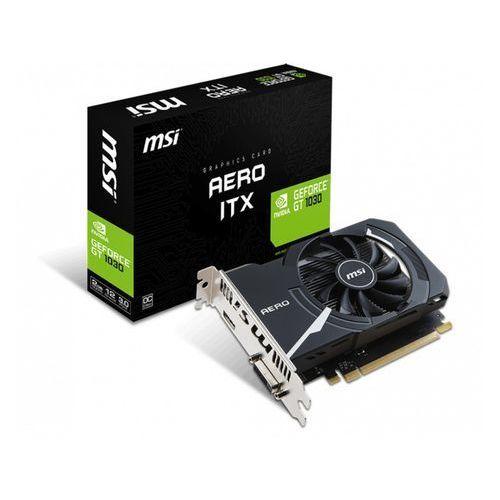 Karta graficzna MSI GeForce GT 1030 2GB AERO ITX OC DDR5 64BIT DVI/HDMI - GeForce GT 1030 AERO ITX 2G OC - GeForce GT 1030 AERO ITX 2G OC Darmowy odbiór w 21 miastach!