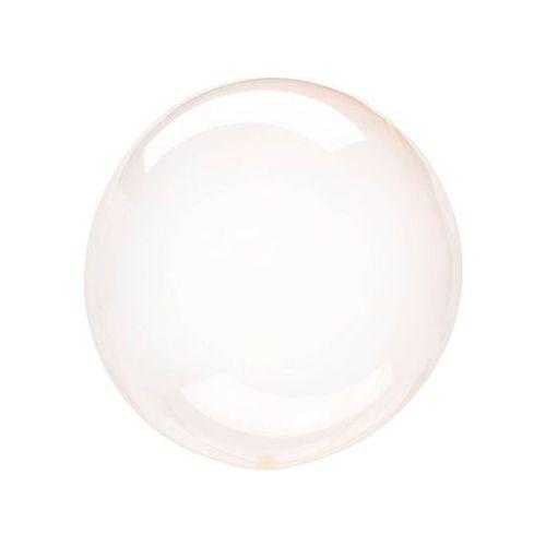 Balon kula krystaliczny pomarańczowy - 46 cm - 1 szt.
