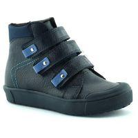 Chłopięce buty zimowe dla dzieci  06014 - granatowy marki Kornecki