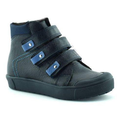 Buty zimowe dla dzieci Kornecki 06014 - Granatowy, kolor niebieski