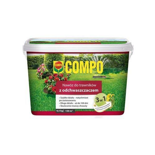Compo Nawóz do trawnika 4.5 kg 3w1 z odchwaszczaczem