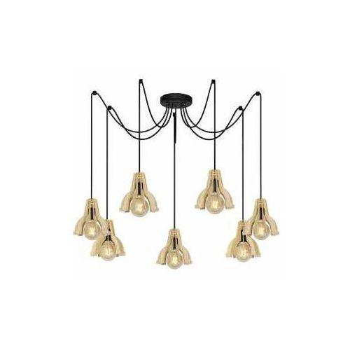 Aldex Pat 885T lampa wisząca zwis 7x40W E14 złota (5904798643072)