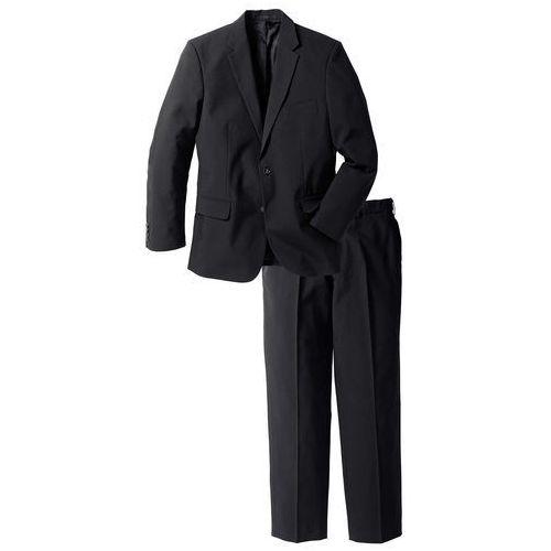 Garnitur (2 części) regular fit czarny marki Bonprix