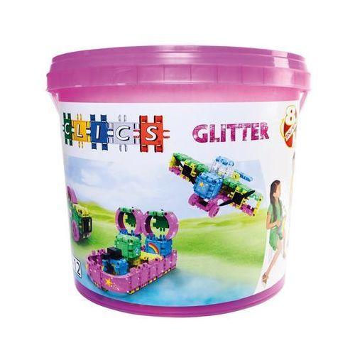 CB180 Klocki CLICS Glitter 8w1