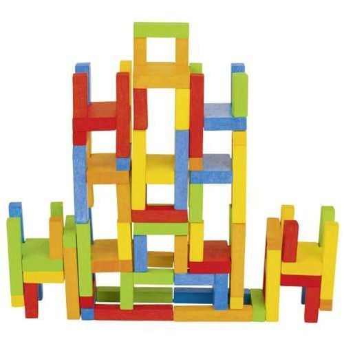 Balansujące zwariowane krzesełka (24 elementy), marki Goki