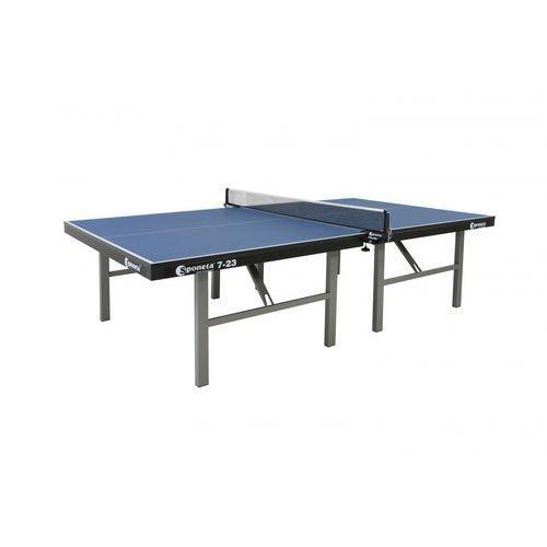 Stół do tenisa stołowego profesjonalny Sponeta S7-23 niebieski