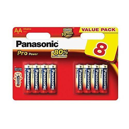 Baterie Panasonic alkaliczne LR6/4+4 PRO | 8szt.