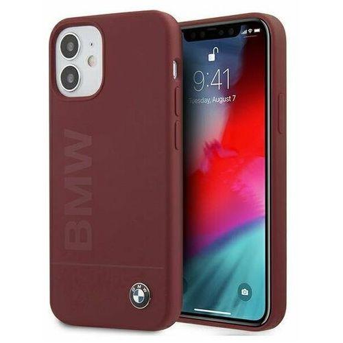 "Etui BMW BMHCP12SSLBLRE iPhone 12 mini 5,4"" czerwony/red hardcase Silicone Signature Logo (3700740486498)"